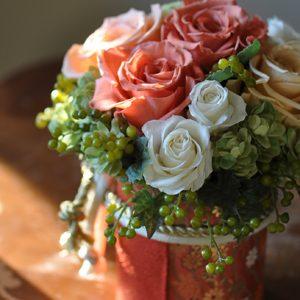 和装贈呈花