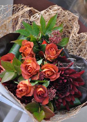 ダリアの花束
