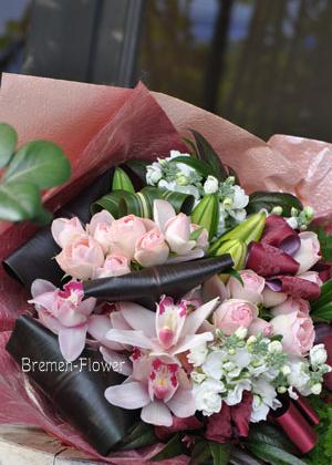 シンビジュームの花束