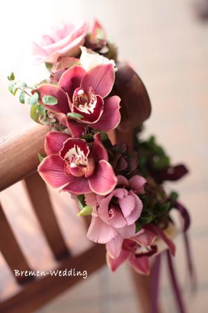 シンビジュームの花冠