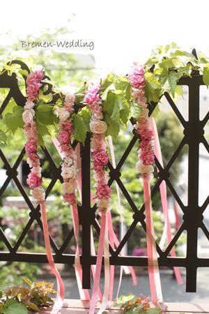 フラワーガールの花冠
