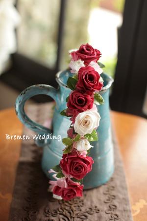 クランベリー色の花冠