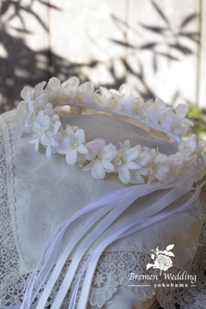 デンファレのハクレイ(花冠)