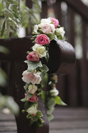 ほっそりと華奢な花冠