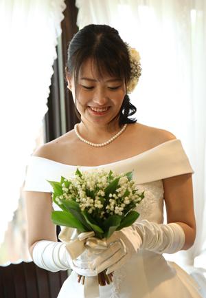 花嫁様からのお手紙1